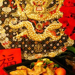 Celebrate the Chinese New Year and Year of the Ram with festive red envelopes and delicious won ton.