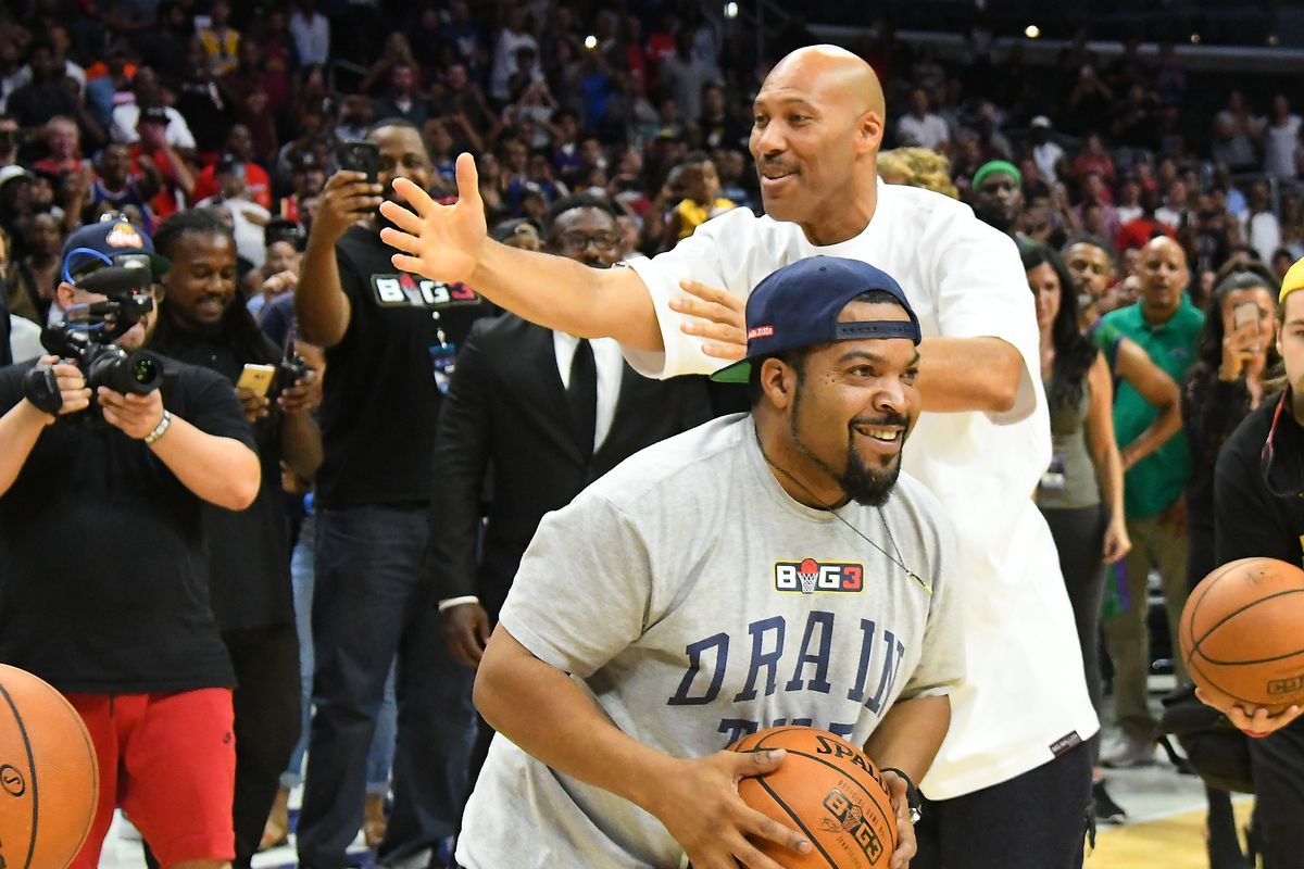 Ice Cube beats LaVar Ball in Big3 4-point challenge