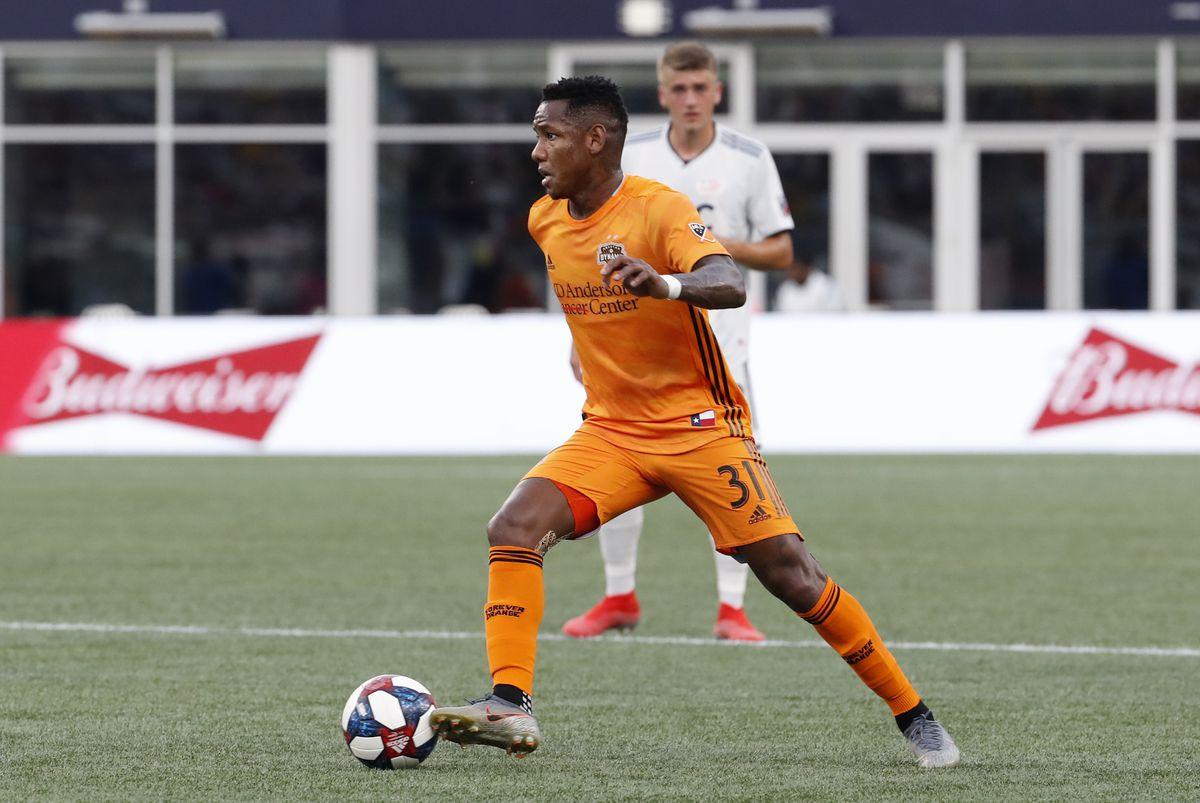 SOCCER: JUN 29 MLS - Houston Dynamo at New England Revolution
