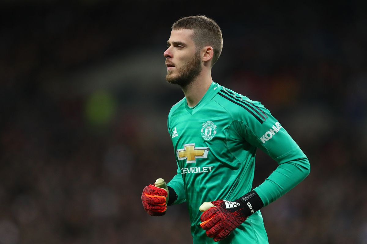 more photos 085a5 edb76 David de Gea wants huge contract to stay at Manchester ...