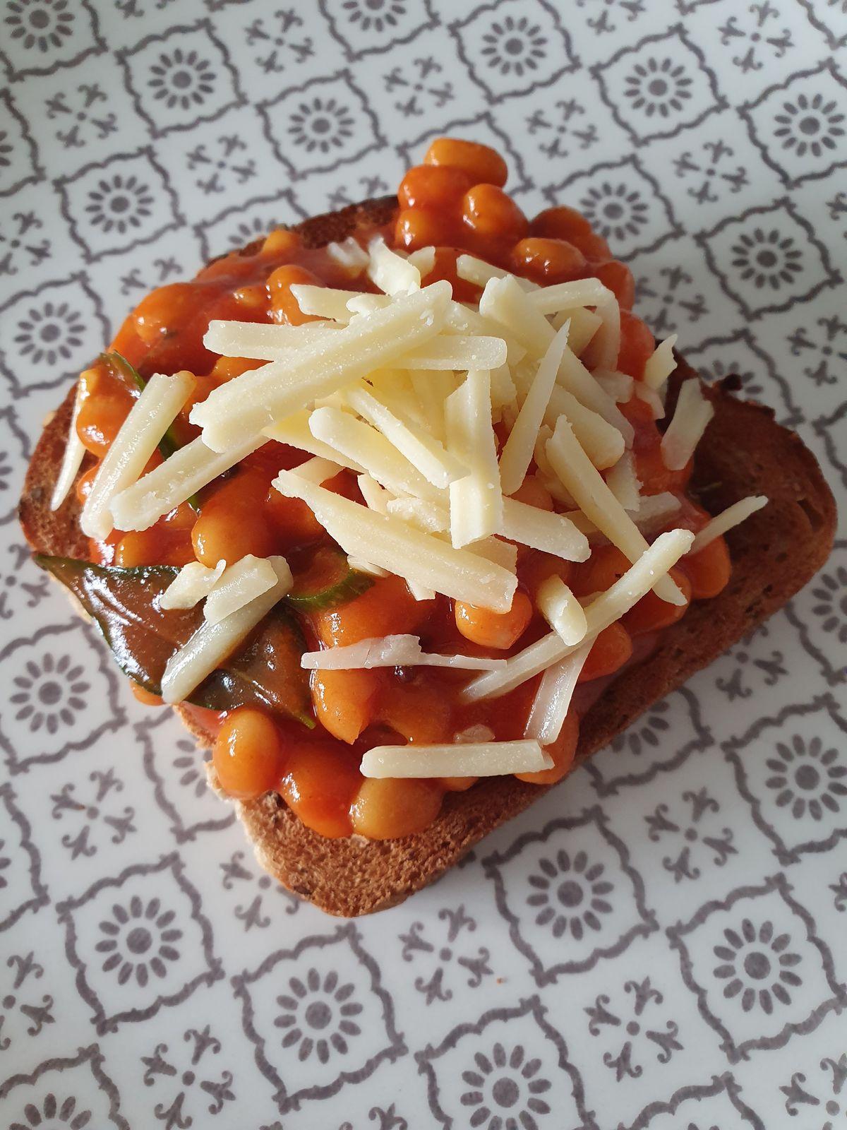 Masala beans on toast by Hoppers' Karan Gokani