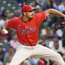 Zach Eflin, Phillies starting pitcher in Game 2 Friday