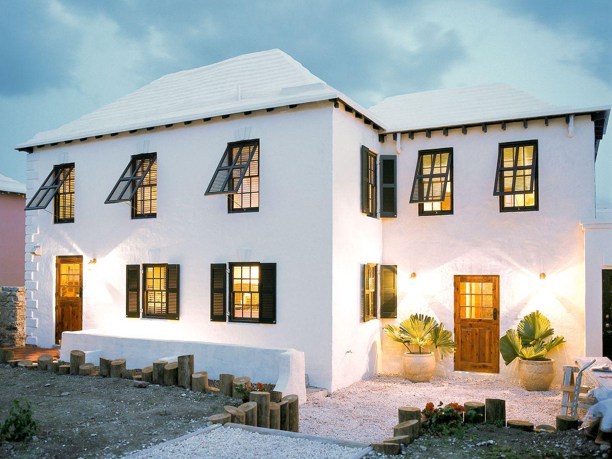 The house in Bermuda.
