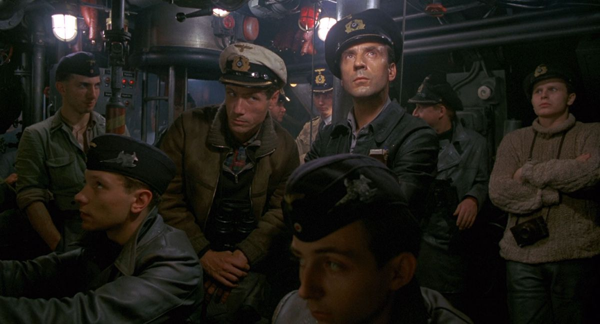 Jürgen Prochnow as Capt.-Lt. Henrich Lehmann-Willenbrock in 1981's Das Boot