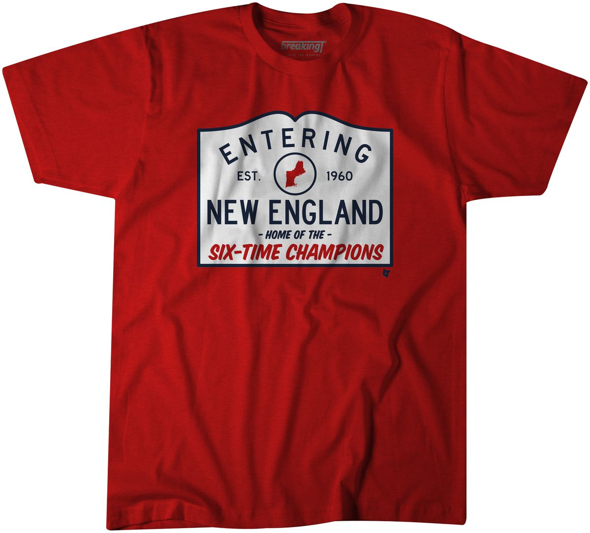 "You can get the ""Entering New England"" shirt right here. For more Super Bowl  or Patriots shirts from Breaking T ... ca08e6721"