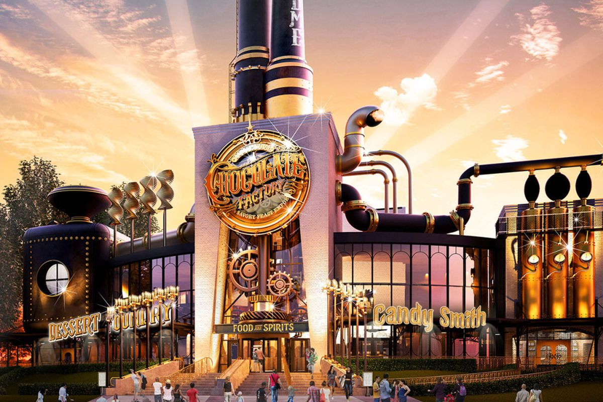 Universal Studios Is Opening a Willy Wonka-esque Chocolate Factory ...