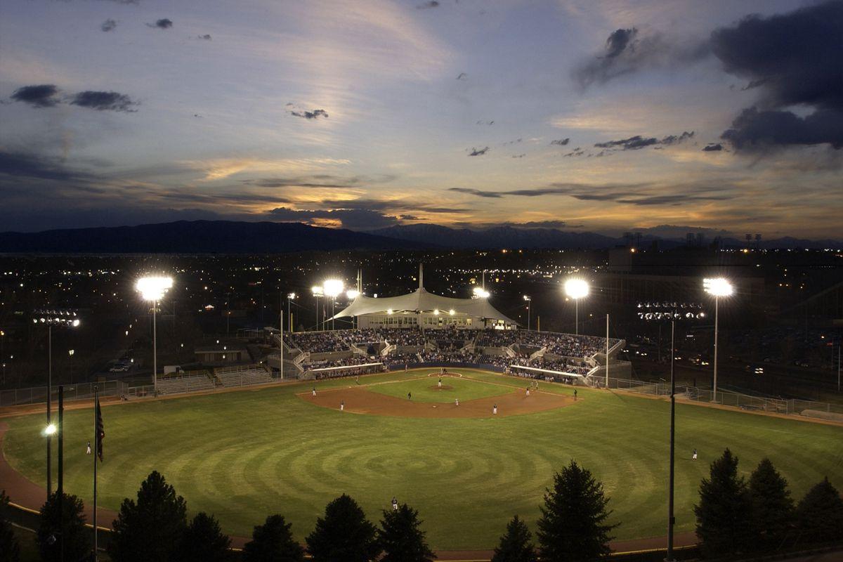 Miller Field at night