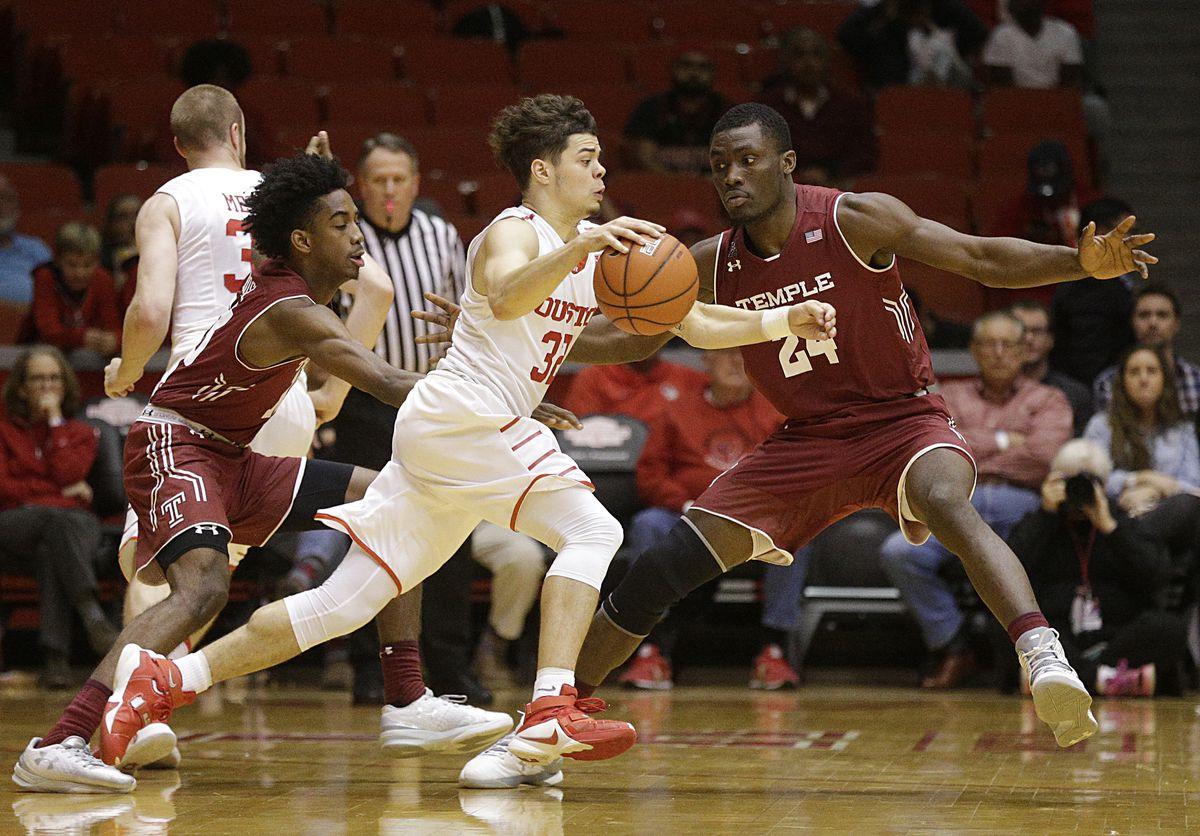 NCAA Basketball: Temple at Houston