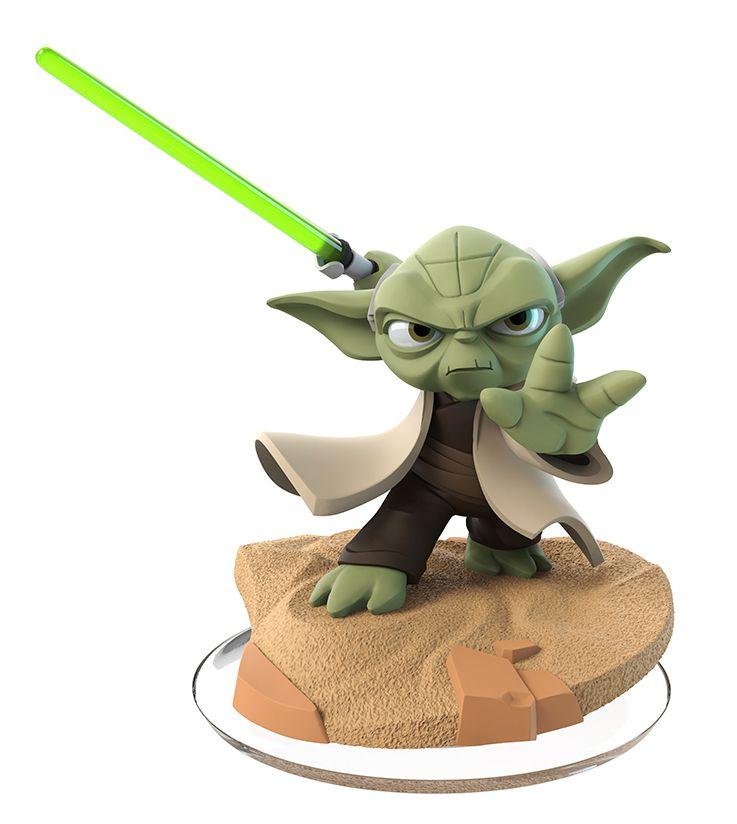 Disney Infinity Yoda figure