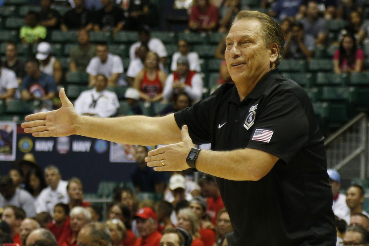 NCAA Basketball: Armed Forces Classic-Arizona vs Michigan State