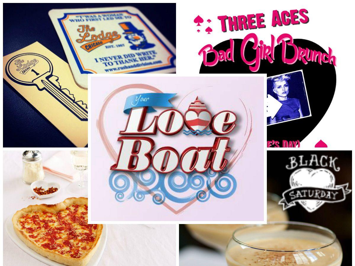 The Lodge, Three Aces, Lou Malnati's, Spirit of Chicago, Tortoise Club