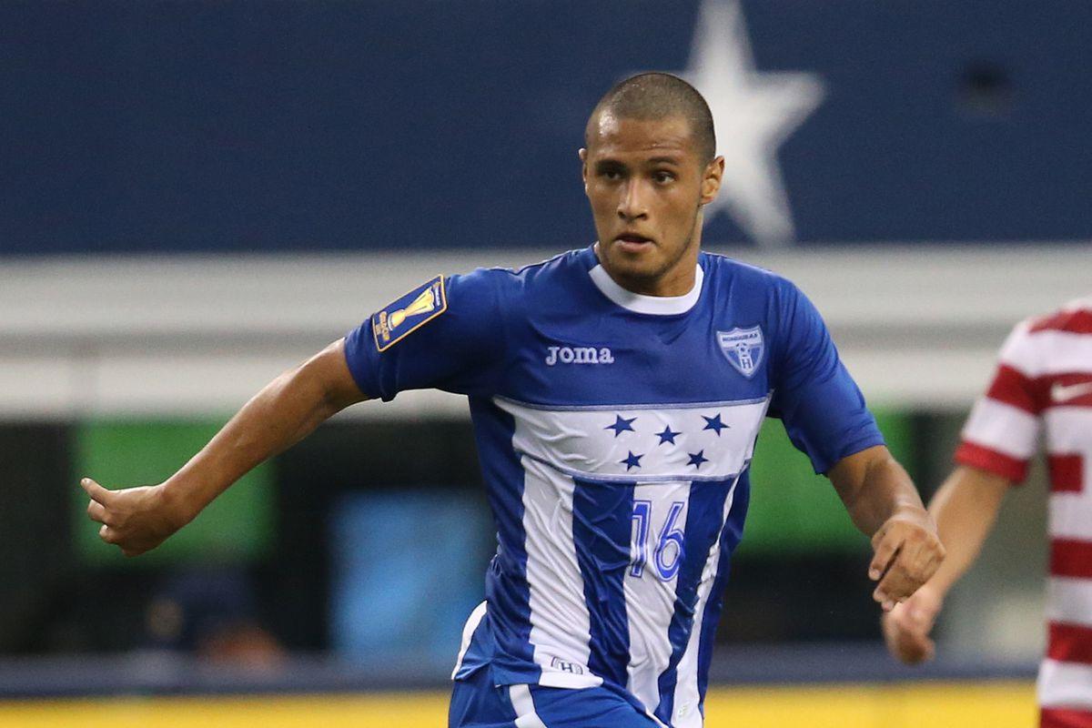 Alex Lopez in the Honduras Blue & Whites