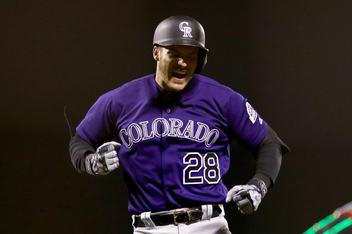 74313997e Photo by Ezra Shaw Getty Images. The Colorado Rockies should offer Nolan  Arenado a contract extension ...
