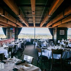 Quite possibly Portland's most famous dining room, the Portland City Grill —perched atop the 30th floor of the city's highest building — is best known for its low-hanging wood ceilings and large windows offering stunning views of the city (and Cascade Mo