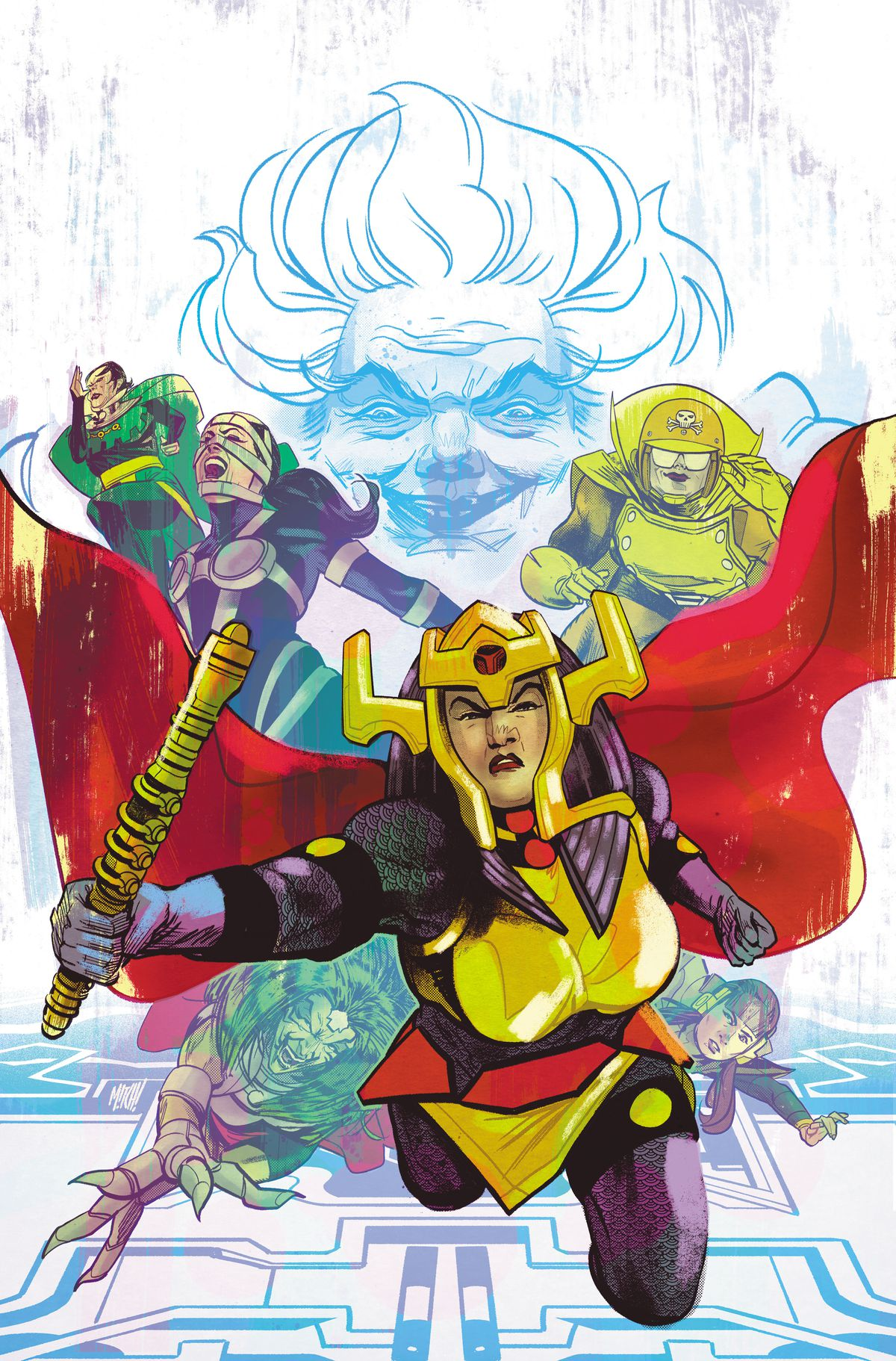 The cover of Female Furies #1, DC Comics (2019).