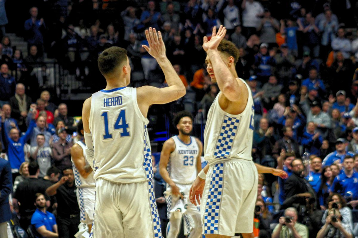 Kentucky Basketball Highlights And Box Score From Historic: Kentucky Wildcats: Highlights, Box Score And MVP From UK's