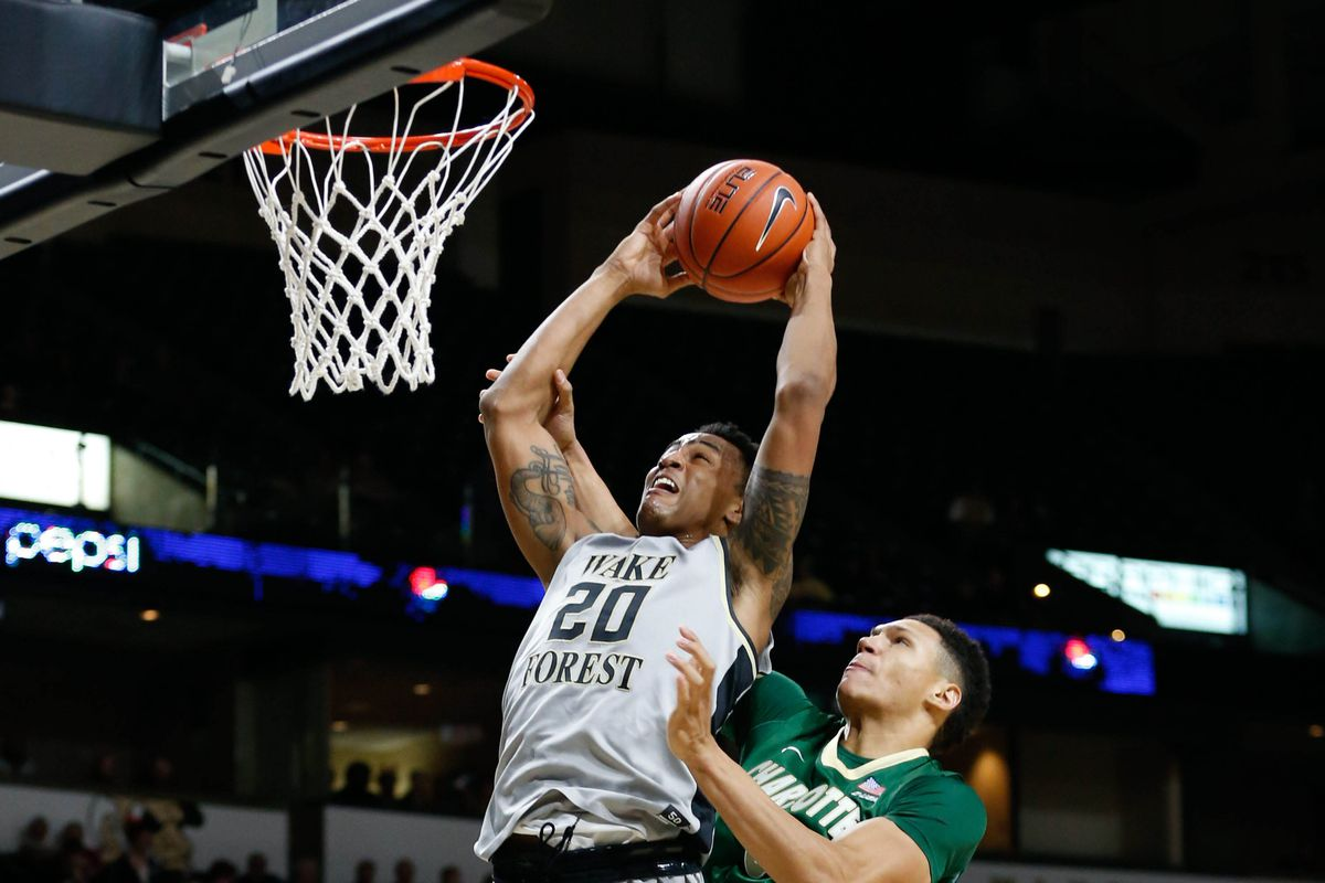 NCAA Basketball: Charlotte at Wake Forest