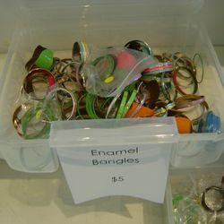 $5 enamel bracelets