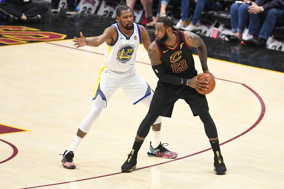 8ffb31fdb605 Kevin Durant says LeBron James never texted him about teaming up on Lakers