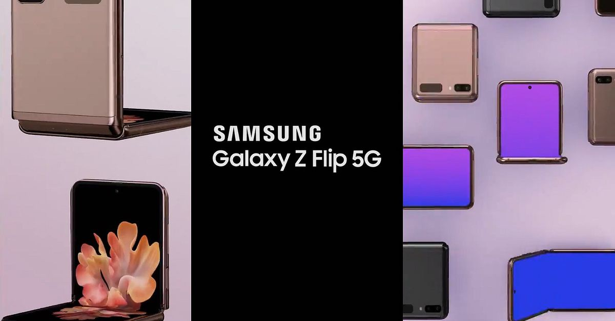 Samsung's 5G Galaxy Z Flip may have been fully revealed in these latest leaks - The Verge