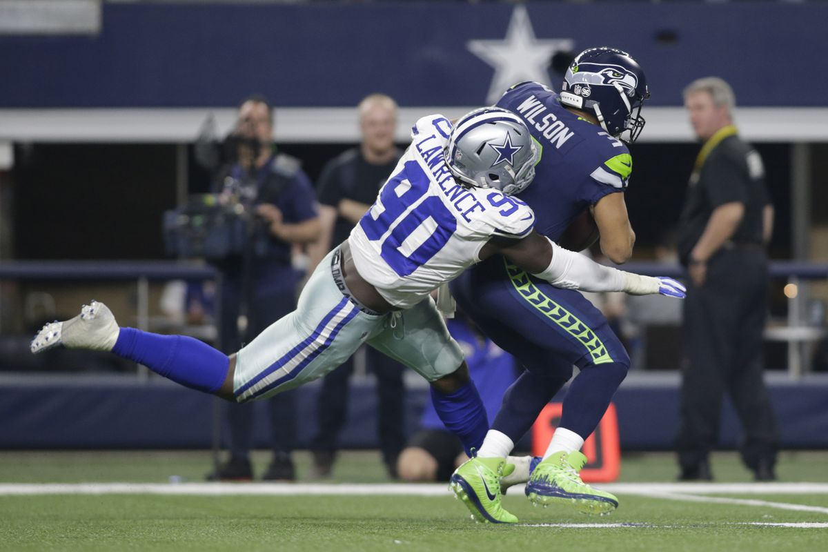 「demarcus lawrence 2018 sack」の画像検索結果