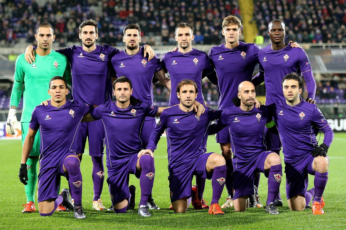 60% of the front row from the last Europa League match is gone.