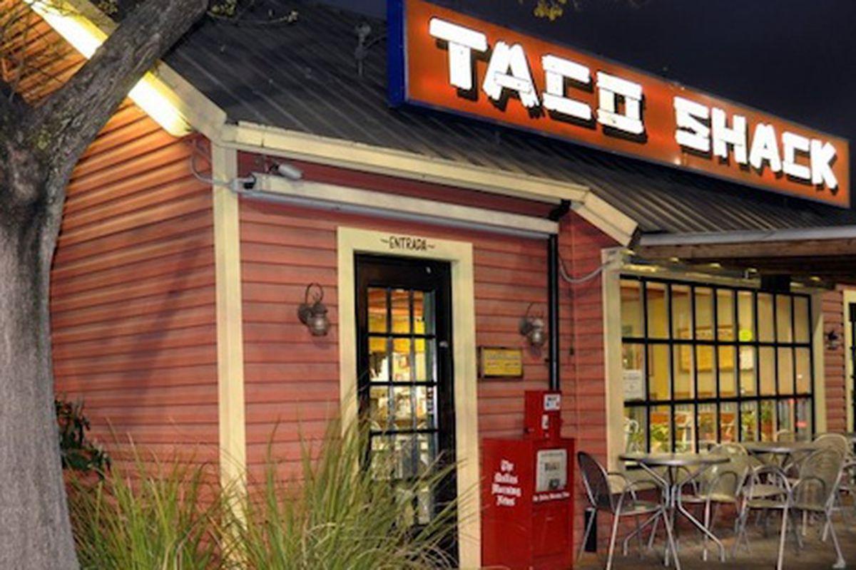 Taco Shack.