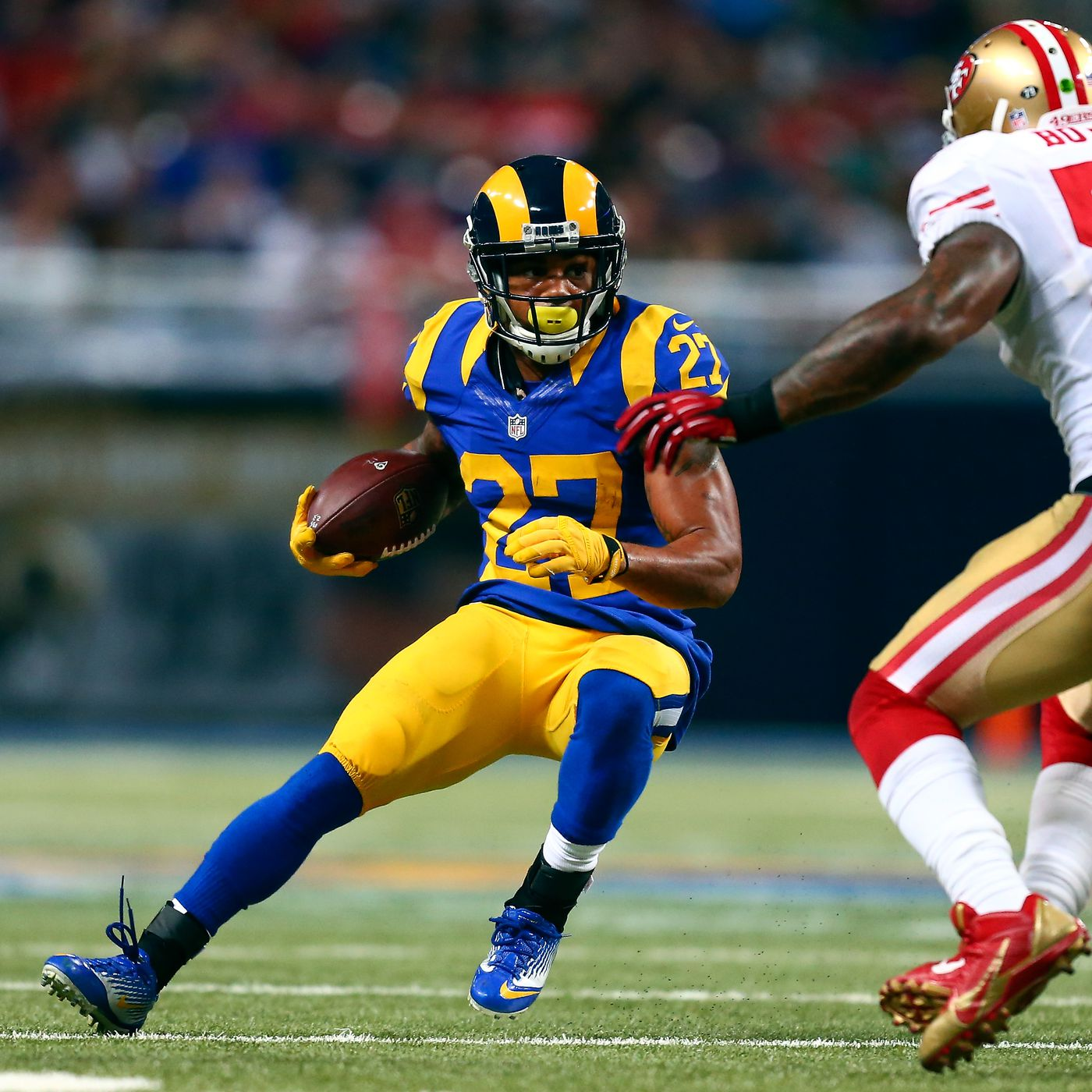 Former Los Angeles Rams RB Tre Mason Calls A Clown Show