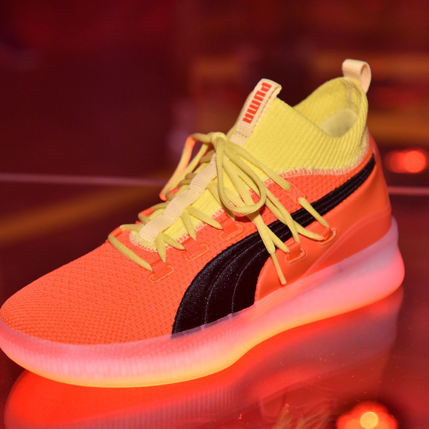 bd47cde28c7fc7 Puma s Clyde Court Disrupt basketball shoe drops just in time for the new  NBA season - SBNation.com