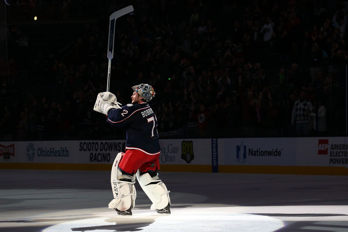 60938822cc6 Sergei Bobrovsky Named to Team Russia World Cup of Hockey Roster ...