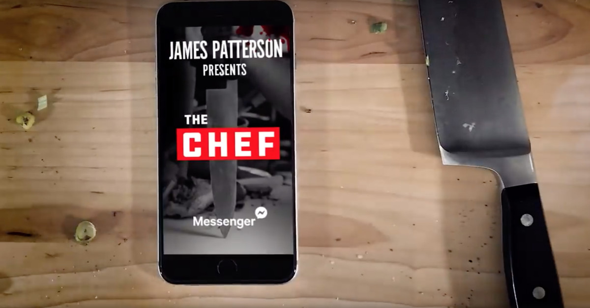 James Patterson's Next Novel will Be Released on Facebook Messenger