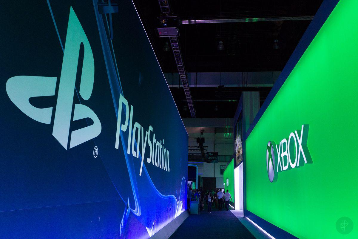 E3 2014 - PlayStation/Xbox hallway