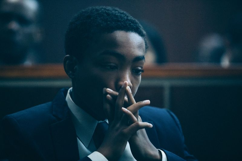 Asante Blackk in When They See Us.