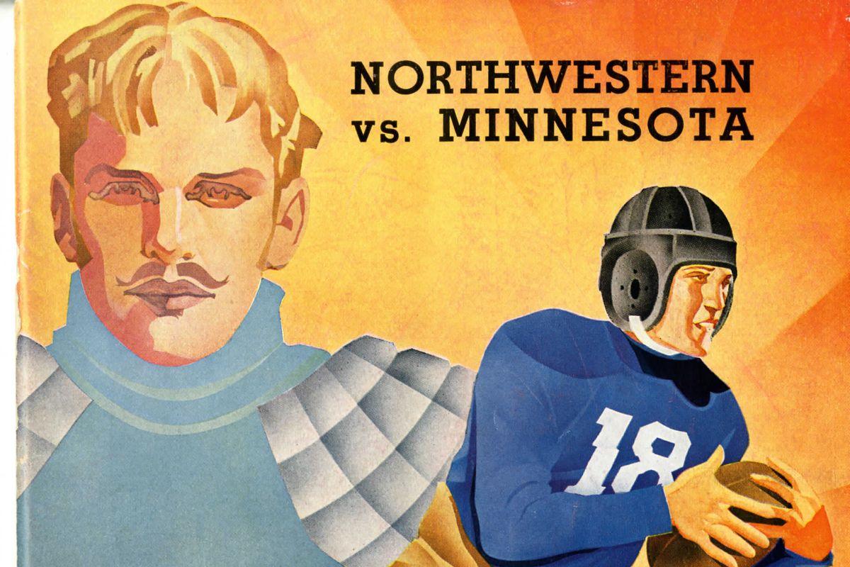 Minnesota vs Northwestern, 1936 Program