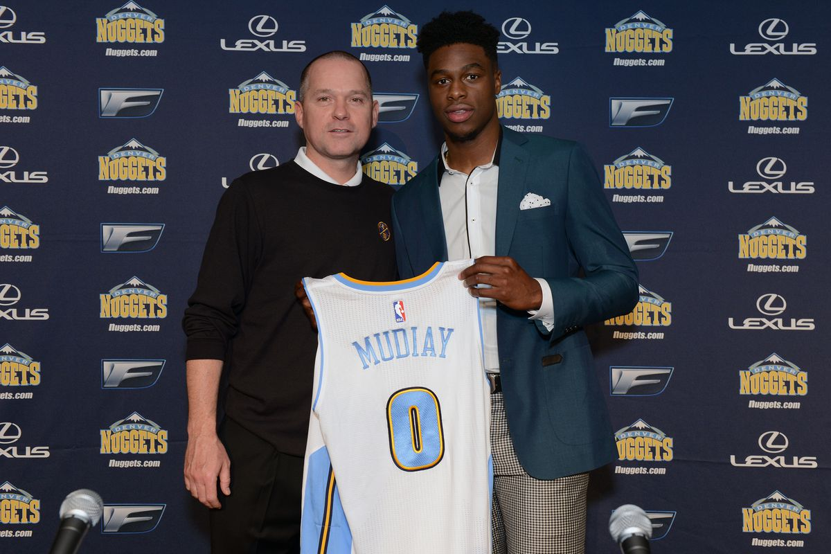 How soon until Emmanuel Mudiay becomes an agent of change for the Nuggets, Michael Malone, too.