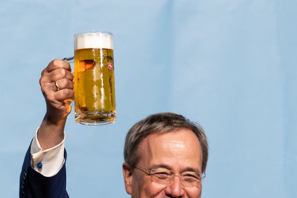 CDU election campaign - Armin Laschet in Celle