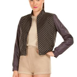 """A classic Opening Ceremony bomber <a href=""""http://www.openingceremony.us/entry.asp?pid=6162"""">has been</a> remastered with sporty polka dots."""