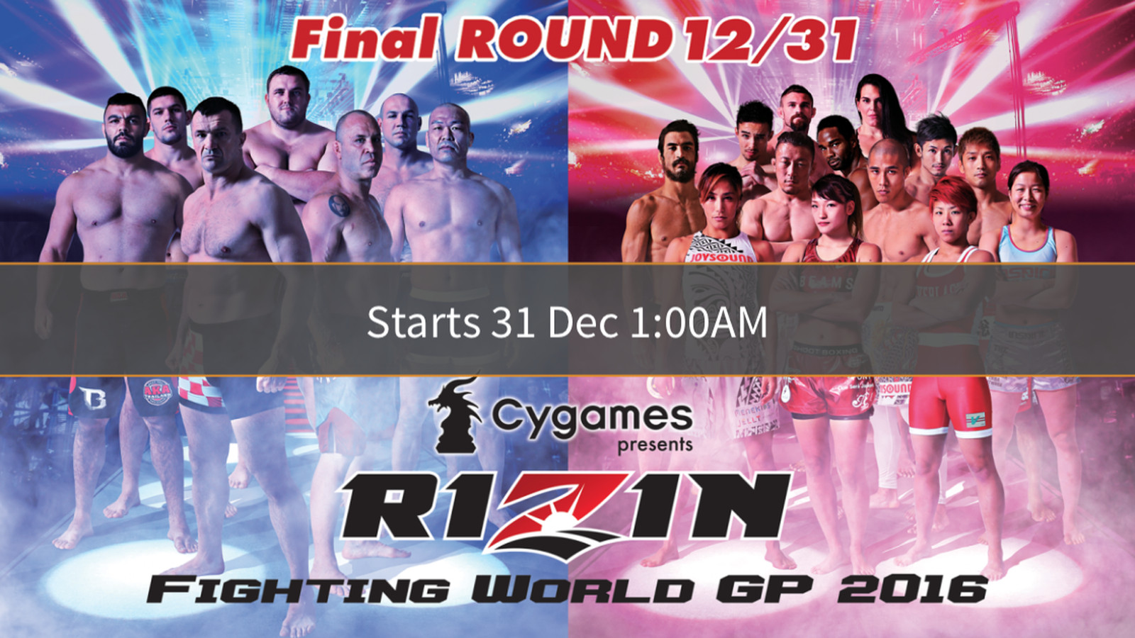 Watch RIZIN Grand Prix FINAL ROUND live stream online ...