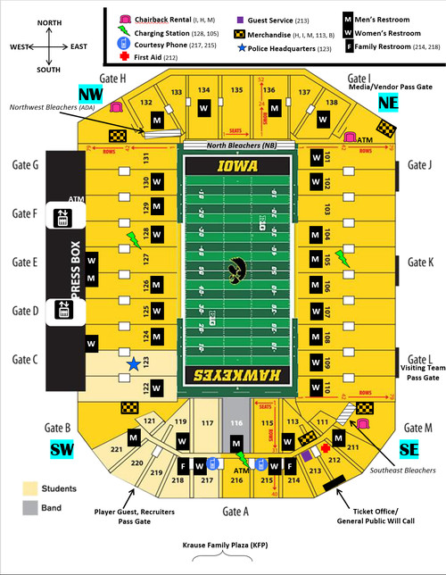 Iowa Football A Tailgaters Guide To Iowa City Black