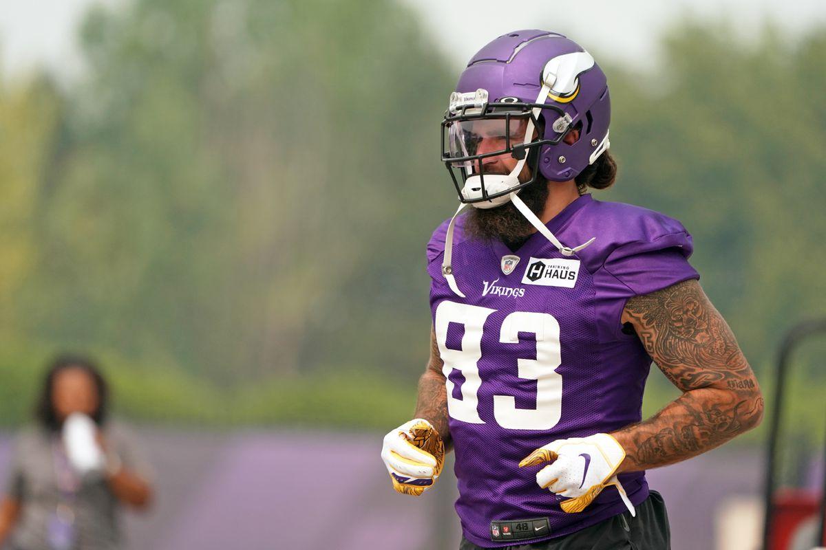 NFL: JUL 29 Minnesota Vikings Training Camp
