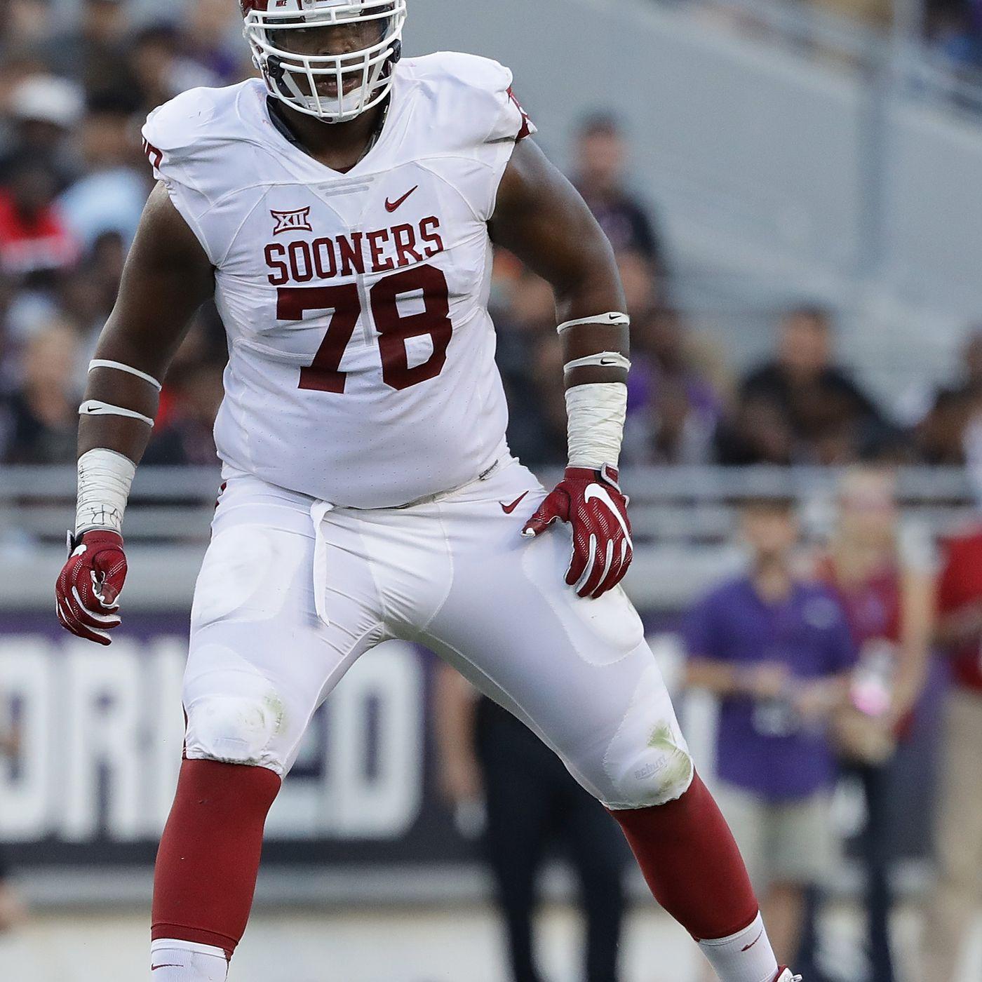 factory price de1ce 88045 Orlando Brown: Oklahoma offensive lineman having nightmare ...