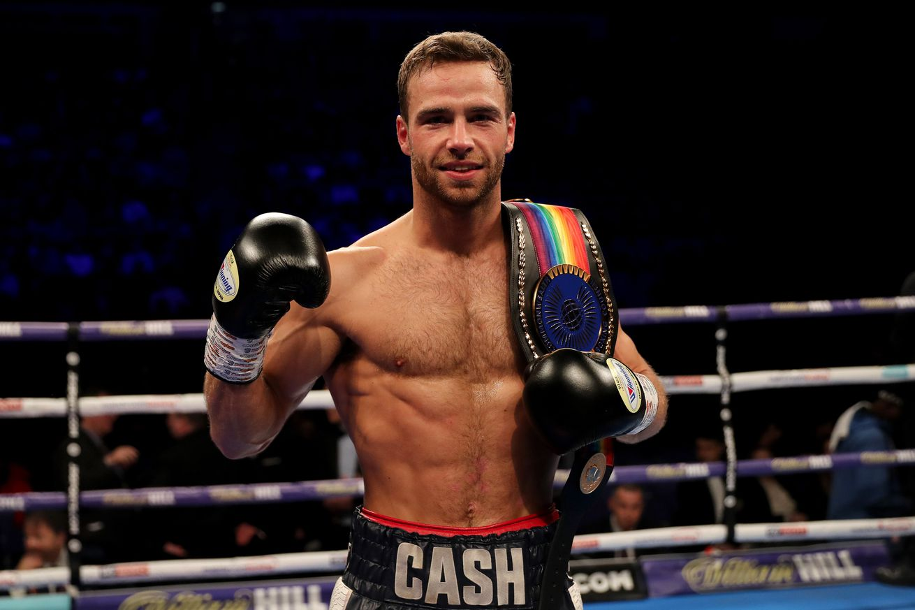 1126970037.jpg.0 - Felix Cash to defend Commonwealth title on July 6 in Manchester