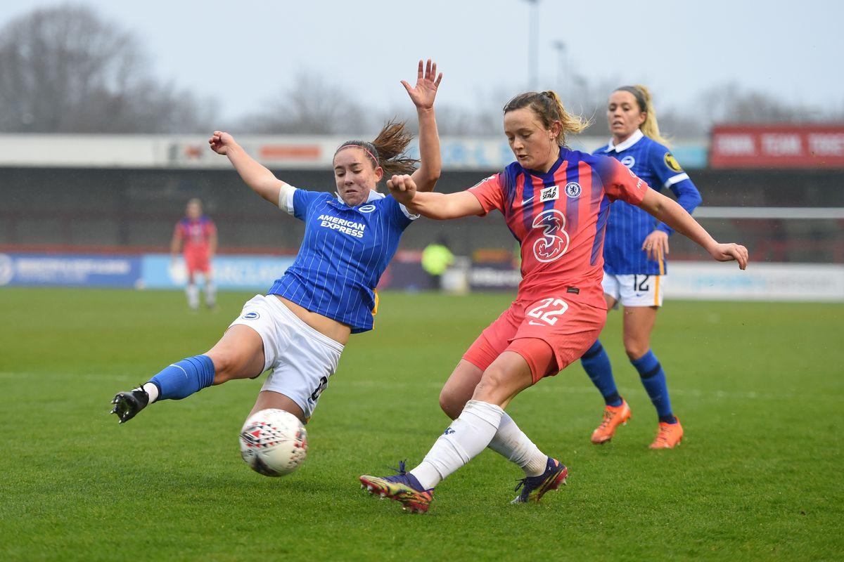 Brighton & Hove Albion Women v Chelsea Women - Barclays FA Women's Super League