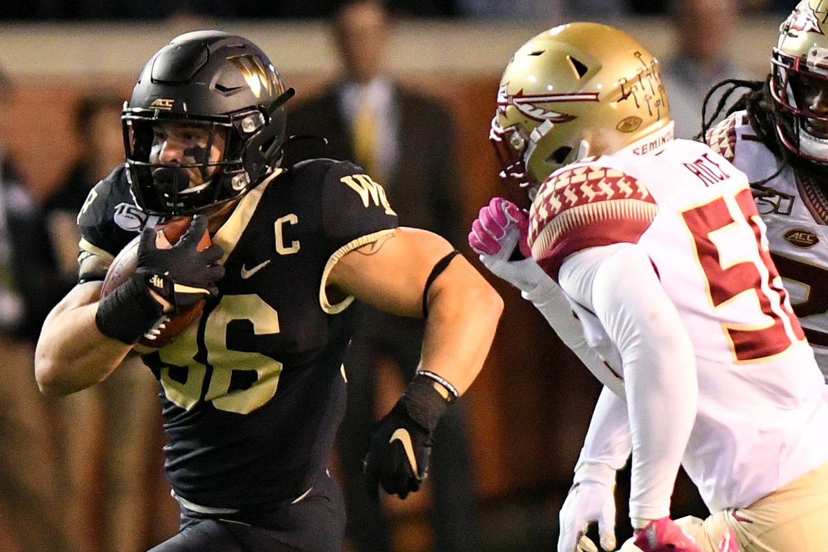 COLLEGE FOOTBALL: OCT 19 Florida State at Wake Forest