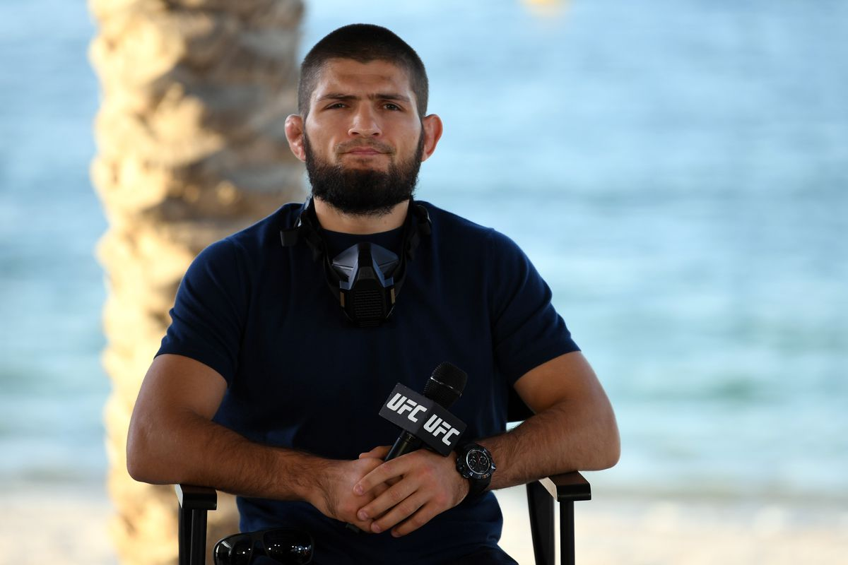 Retired former UFC champion Khabib Nurmagomedov could be playing professional football in the future.