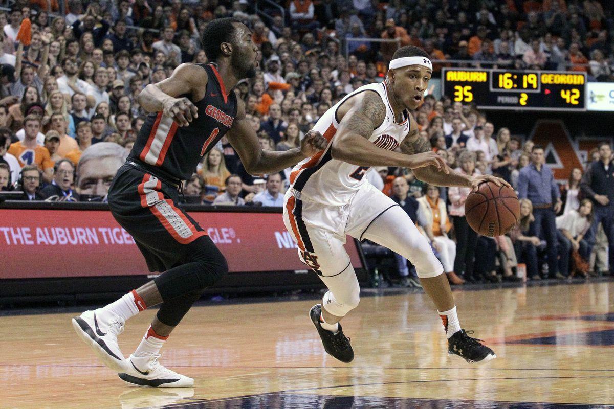 NCAA Basketball: Georgia at Auburn