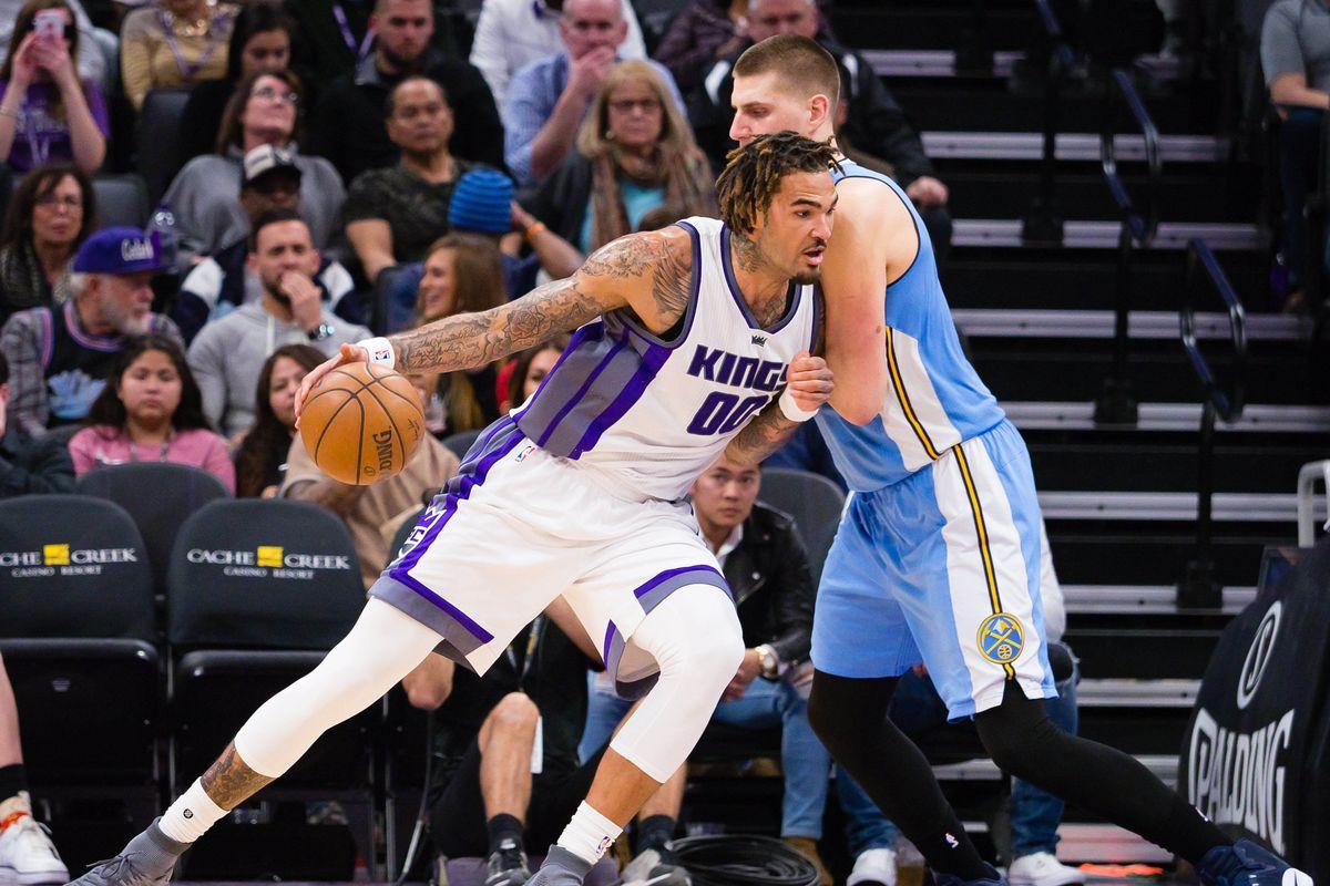 NBA: Denver Nuggets at Sacramento Kings