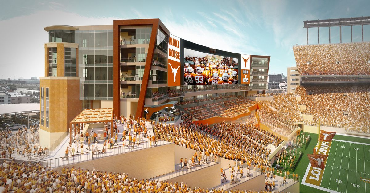 Texas selects Populous to design $175 million south end zone project