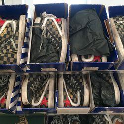 Golden goose sneakers, $160 (were $557)