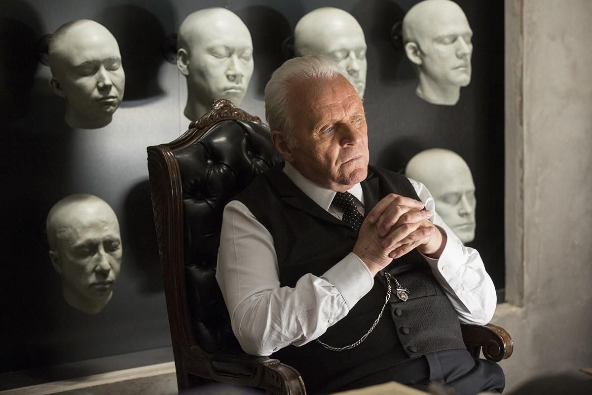 Westworld - Dr. Robert Ford in his office